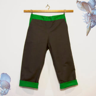 Bottoms, Boy's Clothes, Boys, basic pants, boys pants, reversible pants, reversible, children's clothing, handmade, Pants, toddler, Trousers, handmade children's clothing, brown, green