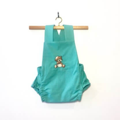 Teddy Romper, jumpsuit, onesie, romper, cute baby outfit, cute toddler outfit, toddler, children's clothing, Boy's clothes, Girl's Clothes, handmade, baby boy